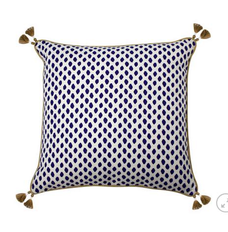 Sahara Midnight w/tassels Pillow