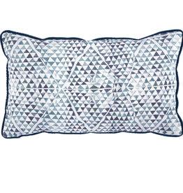 Diamond Mosaic Sapphire Lumbar