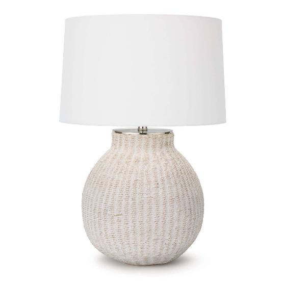 """Hobi Table Lamp  26.5""""h  18""""dia"""