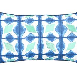 Zane Cobalt Lumbar Pillow