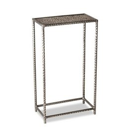 Khan Drink Table-Silver
