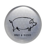 Hogs &  Kisses Paperweight