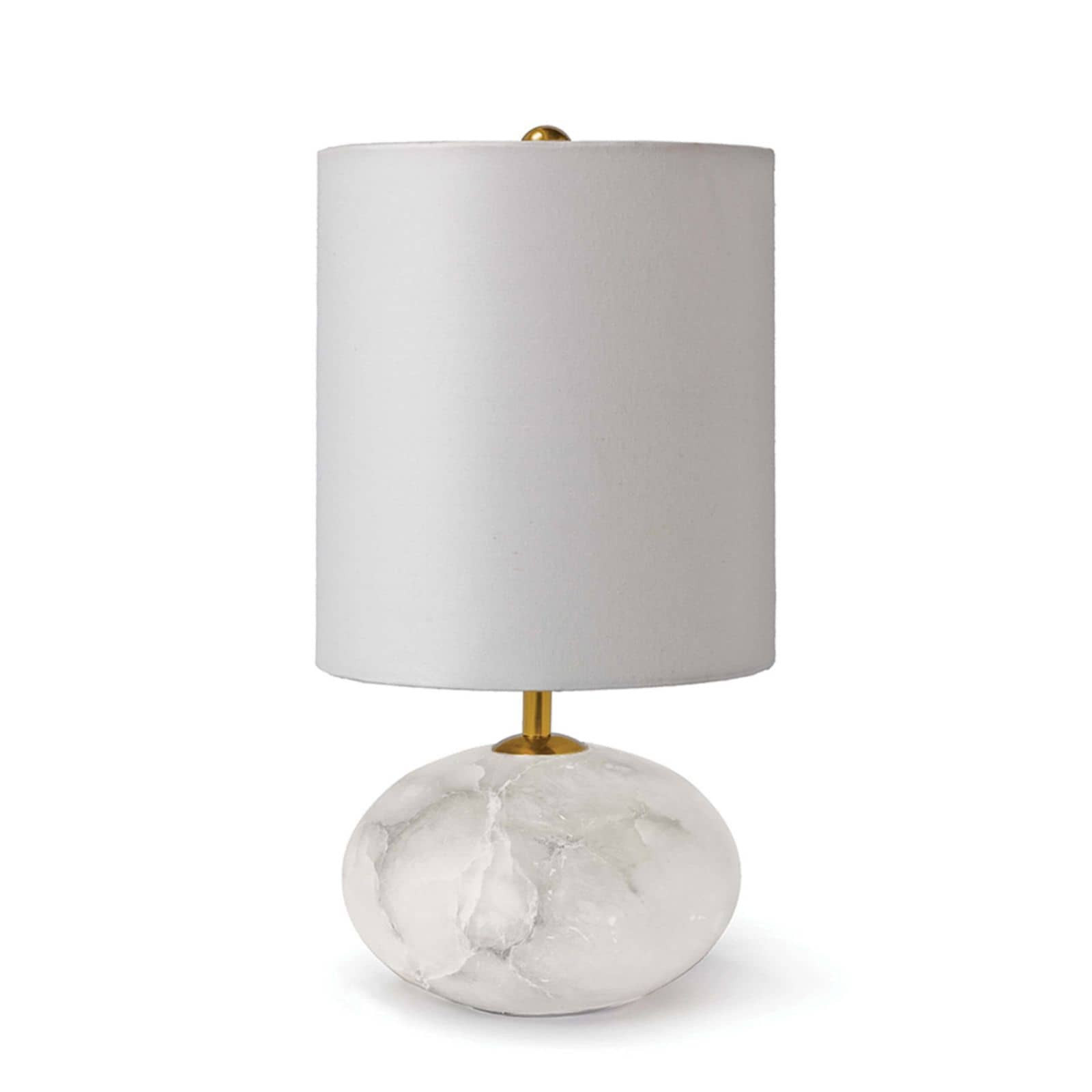 Alabaster Mini Orb Lamp