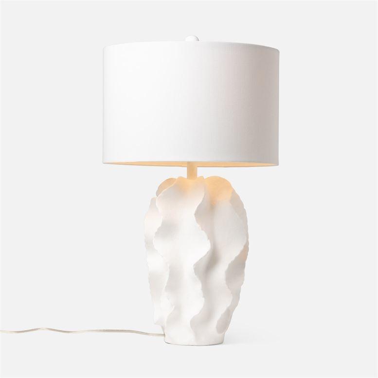 Bethany White Table Lamp