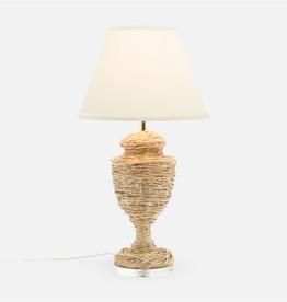 Ida Natural Fiber Table Lamp