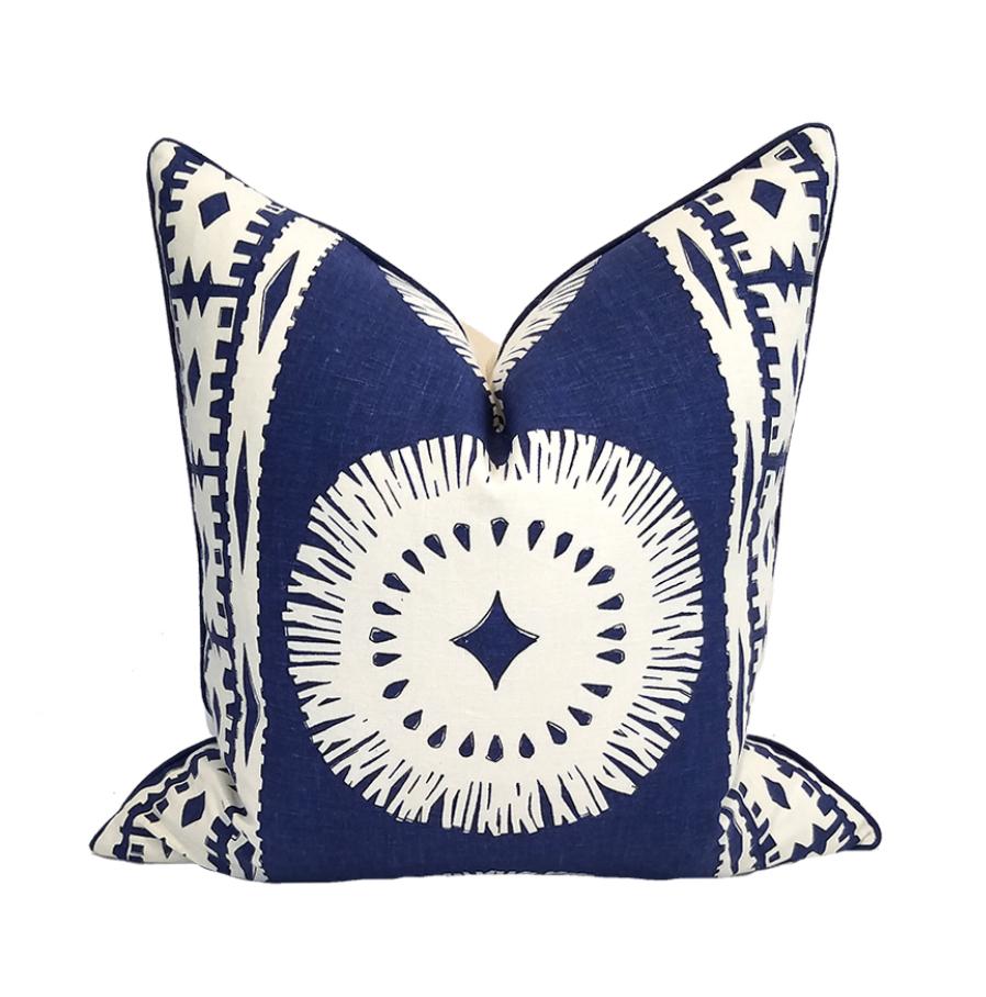 Lanai Collection Bora Bora Pillow-Indigo