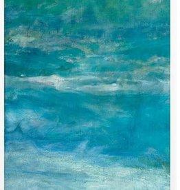 """Morning Beach Panel 1 - 21""""W x 51""""H"""