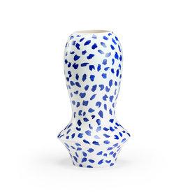 Osaka Vase-Blue