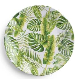 QSquared Palm Melamine Salad Plate