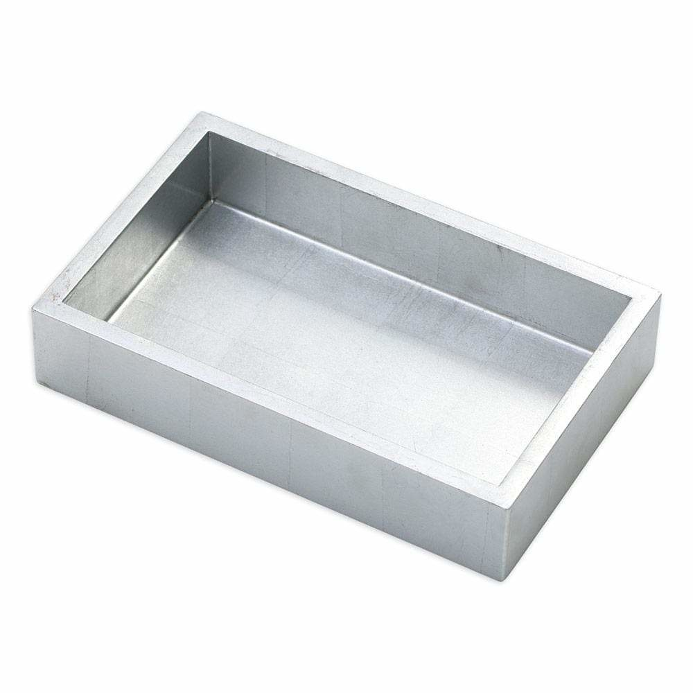 Silver Lacquer Guest Towel Holder