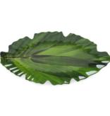 QSquared Zen Leaf Melamine Platter Large