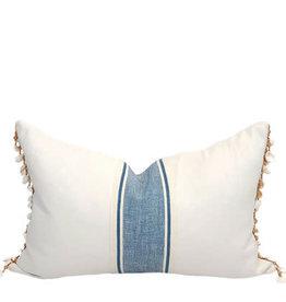 Shell Stripe Lumbar Pillow