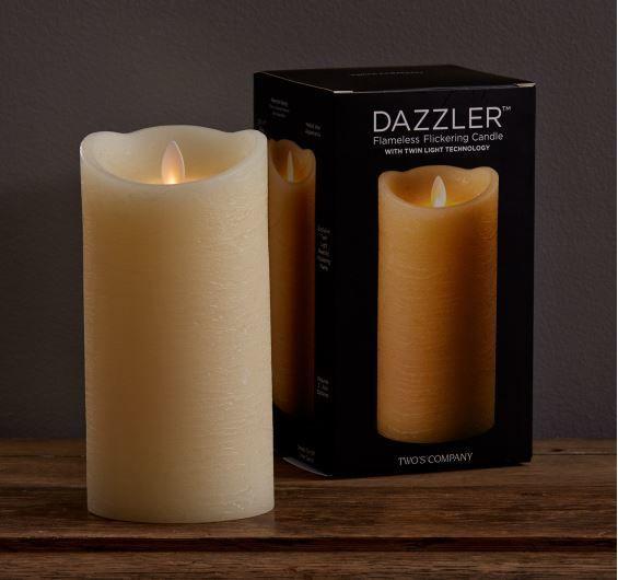"""7"""" Dazzler Flickering Candle"""