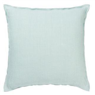 Brera Lino Pale Aqua Dec Pillow 18x18