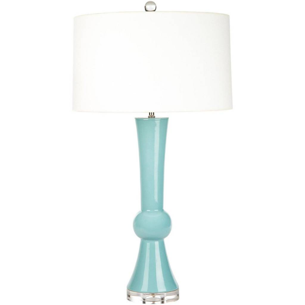 Turquoise Porter Table Lamp