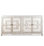 Key Cabinet - Antique White 72""