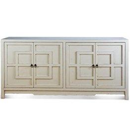 "Key Cabinet - White 72"""
