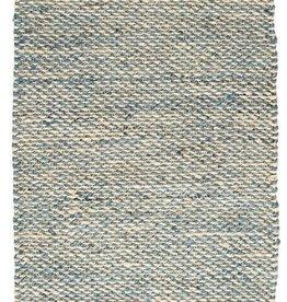 Jacinto French Blue Woven Jute Rug-2x3