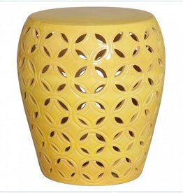 Lattice Table/Stool-Yellow