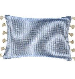 Ziggy Navy Lumbar Pillow