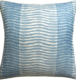 Wavelet Pillow (Aqua)