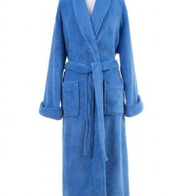 Sheepy Fleece Robe -French Blue