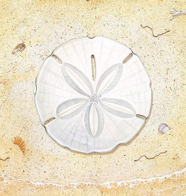 Sand Dollar Cutting Board