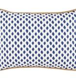 Sahara Midnight w/tassels Lumbar Pillow
