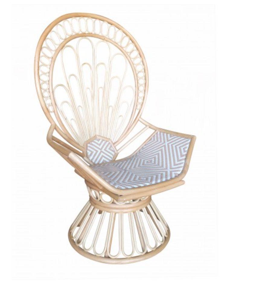 Justina Zahra Peacock Chair