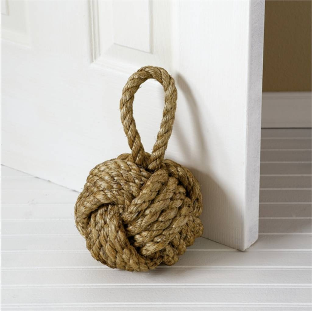 Marseille Knot Door Stopper