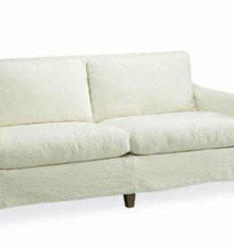 Slipcovered Apartment Sofa in Cody White, 1296-11C
