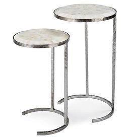 Bone Veneer Nested Tables