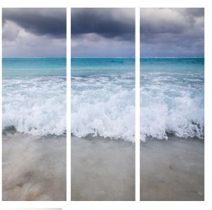 Set 3 Beach Scene  Panels