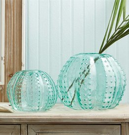 Sea Urchin Art Glass Vase-Small