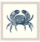 Crab in Blue