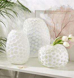 Imprints Hand-Etched Vase (Medium)