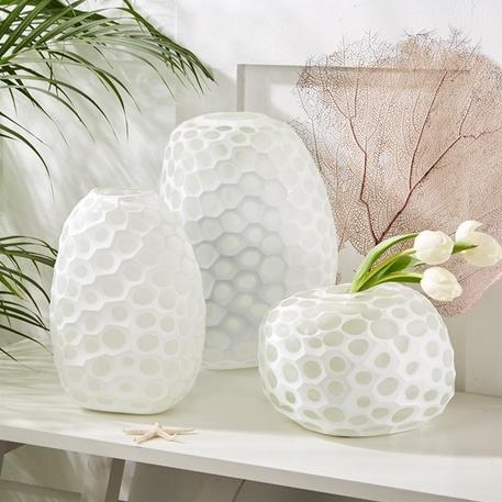Imprints Hand-Etched Vase (Large)