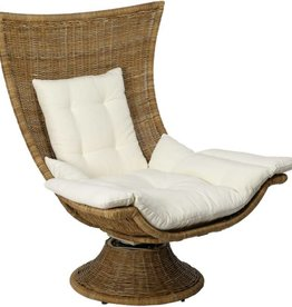 Healdsburg Swivel Chair - Natural