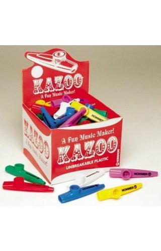 Hohner HOHNER KAZOO ASSORT COLORS