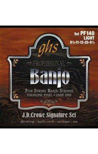 GHS GHS Banjo 5 St Stnlss Lt.0095 .020 PF140