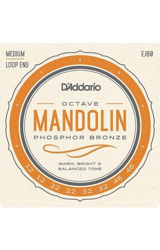 DAddario Fretted D'Addario OCTAVE MANDOLIN PB MED EJ80