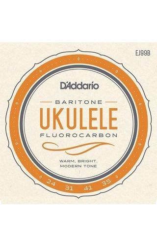DAddario Fretted D'Addario BARITONE UKULELE CARBON EJ99B