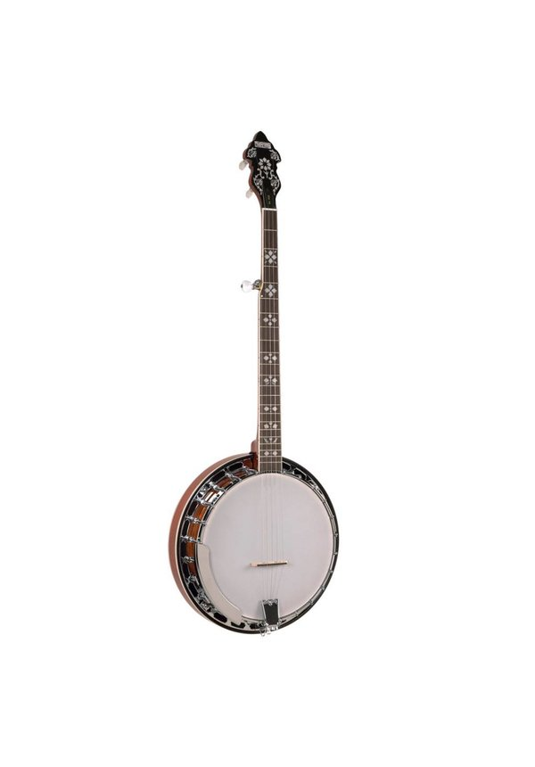 Recording King Songster Tone Ring Banjo
