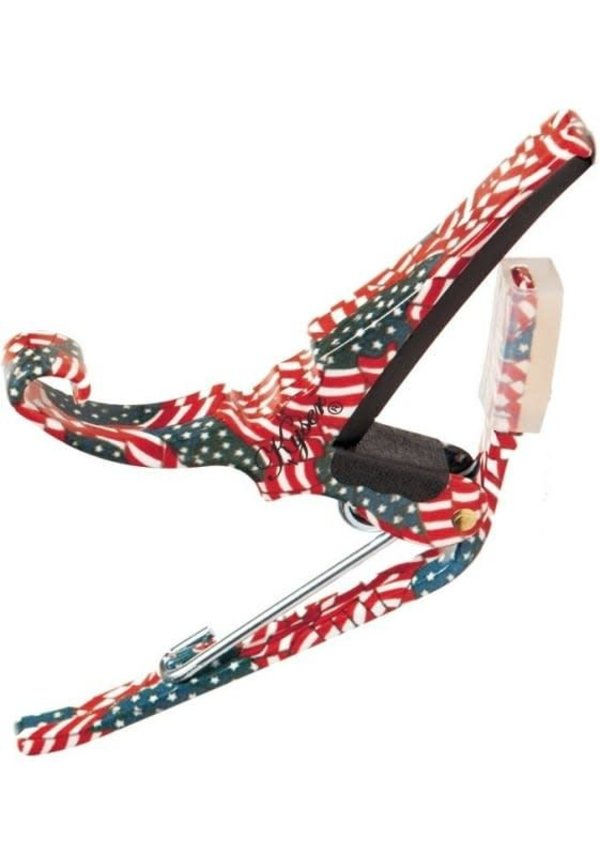 Kyser Quick Change Acoustic Capo - American Flag