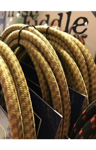 AXL 90 deg Inst Cable, Brn/Ylw Tweed 10