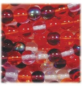 100 PC 4mm Round : Melonberry