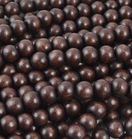 """8mm Round Chocolate Wood Bead 16"""" Strand"""