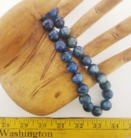 "Kyanite : 15mm Round 15.5"" Strand"