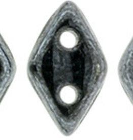 5 GM 4x6.5mm CzechMates Diamond : Hematite (APX 60 PCS)