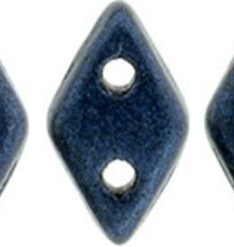 5 GM 4x6.5mm CzechMates Diamond : Metallic Suede - Dk Blue (APX 60 PCS)